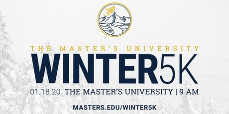 The Master's University Winter 5K tickets