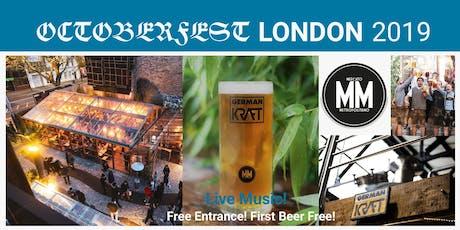 OctoberFest London  tickets
