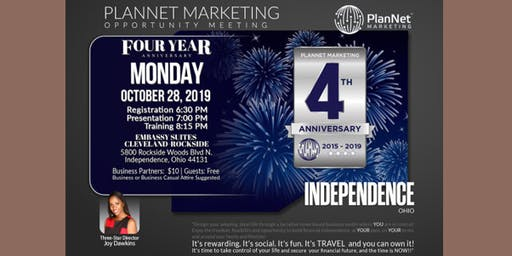 PlanNet Marketing 4 year Anniversary Event- Cleveland, Ohio