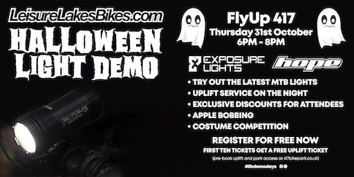 Halloween Light Demo - Leisure Lakes Bikes Flyup 417