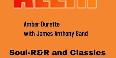 James Antony & Amber Durette Band - Burlington's Concert Stage tickets