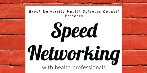 HLSC Council's Speed Networking 2019