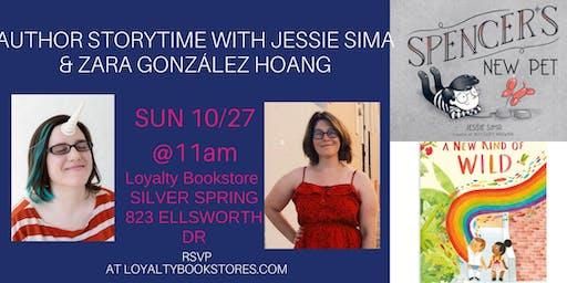 Author Storytime with Jessie Sima & Zara González Hoang