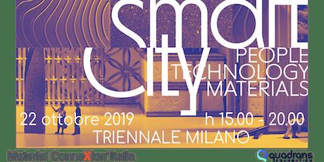 Smart City – People Technology Materials  - Anteprima Edizione 2020 biglietti