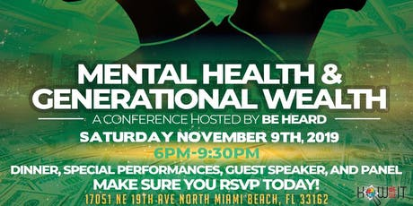 Mental Health and Generational Wealth  tickets