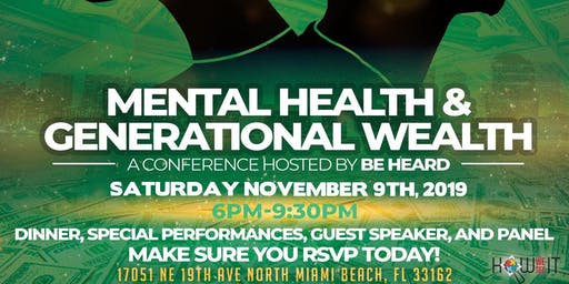 Mental Health and Generational Wealth