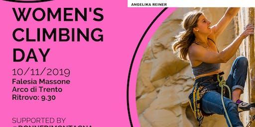 WOMEN'S CLIMBING DAY