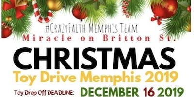 #CRAZYFAITH TOY DRIVE MEMPHIS 2019