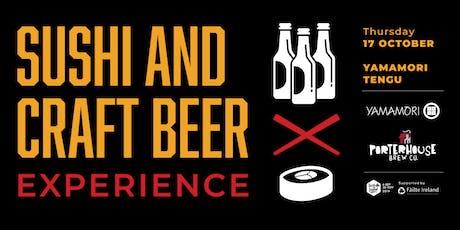 Sushi and Irish Craft beer tickets