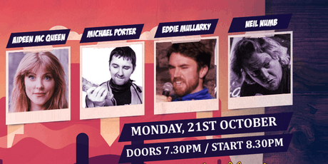 CHAOS COMEDY CLUB presents: THE GOOD, THE BAD & THE IRISH Tickets