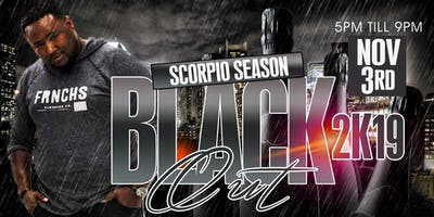Scorpio Season Black Out