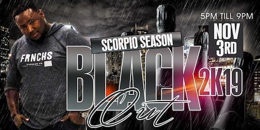 Scorpio Season Black Out