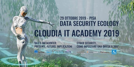 Cloudia IT Academy 2019 - Data Security Ecology biglietti