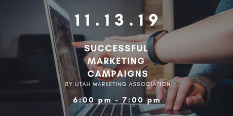 Workshop Wednesdays: Utah Marketing Association tickets