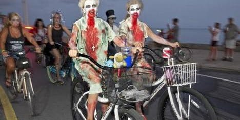 Ride of the Living Dead: Cambridge Bike Party Halloween Ride