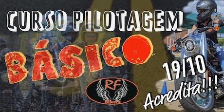 Curso de Pilotagem RF Bikers - BÁSICO ingressos