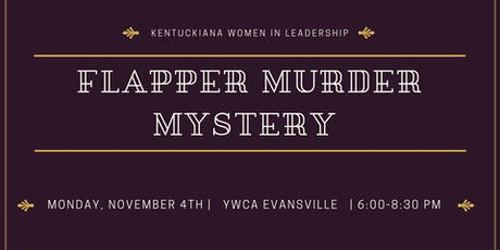 Flapper Murder Mystery Party tickets