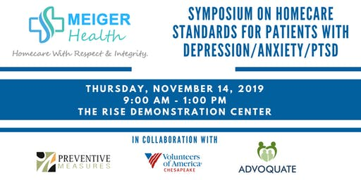 Symposium: Homecare Standards for Patients with Depression/Anxiety/PTSD
