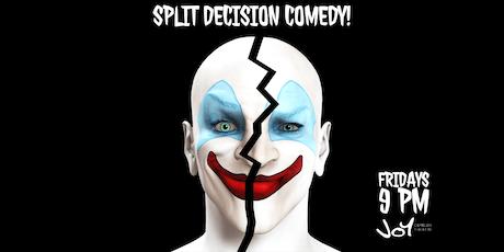 Split Decision Improv Comedy tickets