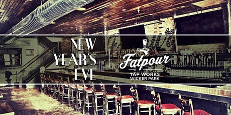 New Year's Eve Chicago at Fatpour (Wicker Park) tickets