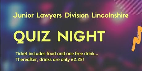 JLD Lincolnshire and BCL Legal Quiz Night tickets