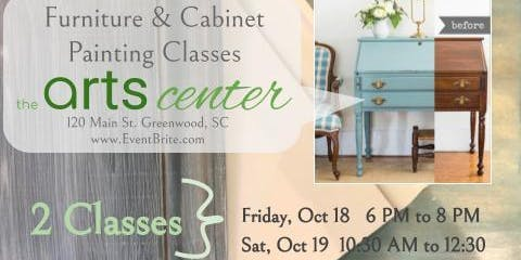 Laura Fleming Interiors Oct. Furniture & Cabinet Painting Class - 3 Basic Techniques