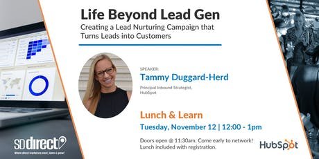 Life Beyond Lead Gen: Creating a Lead Nurturing Campaign that Turns Leads into Customers  tickets