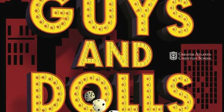 "King's Gate Theatre presents: ""Guys and Dolls"" - Saturday  tickets"