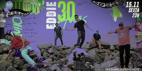 15/11 - FERIADO | BANDA EDDIE NO MUNDO PENSANTE ingressos