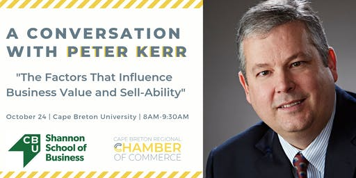 Business Value and Sell-Ability: A Conversation with Dr. Peter Kerr