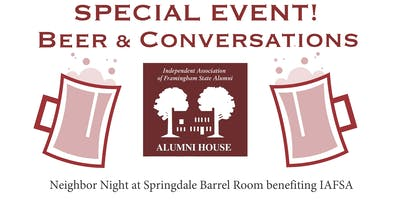 Beer and Conversations-Special Event!