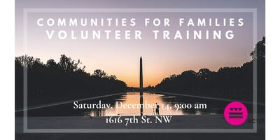 Communities for Families Volunteer Training - December
