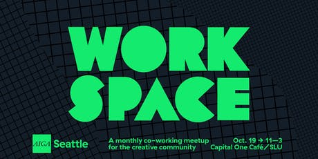 Workspace: A monthly co-working meetup for the creative community tickets