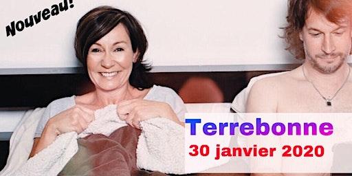TERREBONNE 30 janvier 2020 Le couple Josée Boudreault
