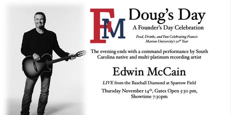 "FMU 50th Festival ""Doug's Day"" w/ Edwin McCain tickets"