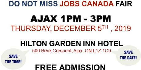 AJAX JOB FAIR - December 5th, 2019 tickets