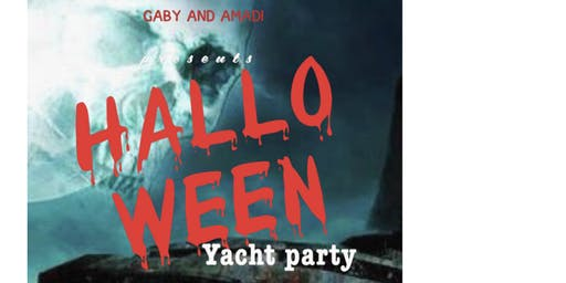 Hallowen Yacht Party