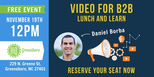 Video for B2B Lunch and Learn