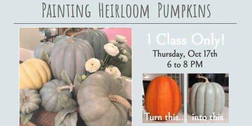 Laura Fleming Interiors: How to Paint Heirloom Pumpkins