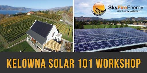SkyFire Kelowna Solar 101 Workshop