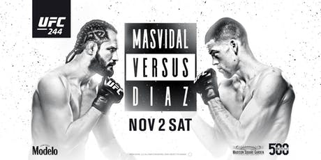 UFC 244: Masvidal vs. Diaz at Red Bar and Lounge tickets