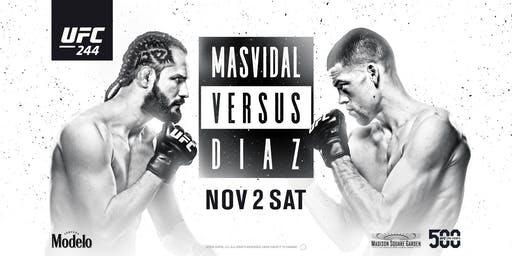 UFC 244: Masvidal vs. Diaz at Red Bar and Lounge