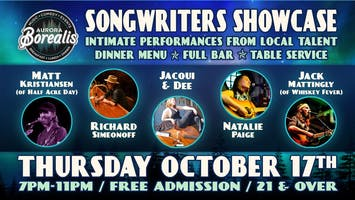 Songwwriters Showcase: Intimate performances from local artists