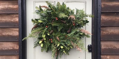 Festive Wreath Making Workshop at Adventures with Flowers HQ, Theale tickets