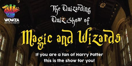 THE QUIZARDING QUIZ SHOW OF MAGIC & WIZARDS - BENDIGO tickets