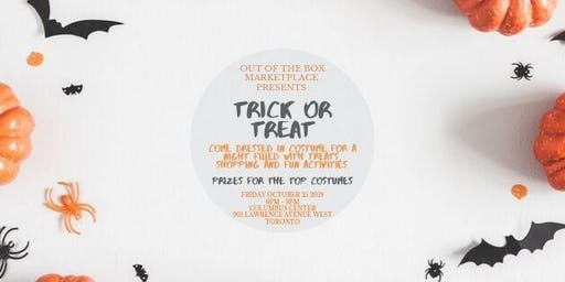 A TRICK OR TREAT MARKETPLACE