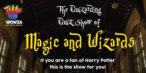 THE QUIZARDING QUIZ SHOW OF MAGIC & WIZARDS - MELBOURNE