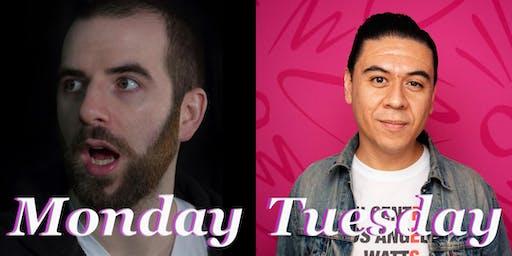 Just The Tips Headlining Jon Schabl & Chris Estrada Comedy Show+Open Mic