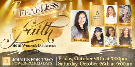 Fearless Faith Women's Conference 2019 tickets