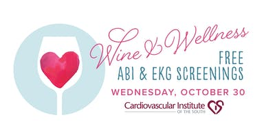 CIS BR Free Wine & Wellness ABI & EKG Screening
